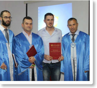 """Edhe tre të diplomuar Master në """"Pjetër Budi"""""""