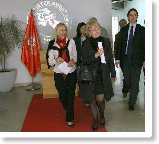 Ambasadorja greke Konstantina Athanassiadoud Ligjëratë në Kolegj