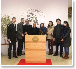 """Studentë nga Turqia vizitojnë Kolegjin """"Pjetër Budi"""""""