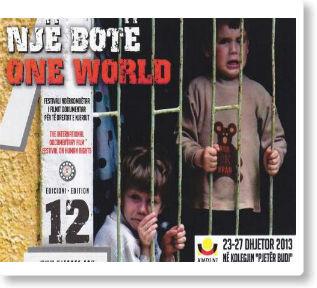 """Në  Kolegjin """"Pjetër Budi"""" mbahet Festivali i Dymbëdhjetë Ndërkombëtarë i Filmit Dokumentar për të Drejtat e Njeriut """"Një Botë 2013"""""""