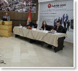"""U mbajt konferenca shkencore ndërkombëtare """"Procesi i integrimit evropian të vendeve të Ballkanit Perëndimor"""""""