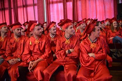 """Diplomoi gjenerata e re e studentëve të Kolegjit """"Pjetër Budi"""""""