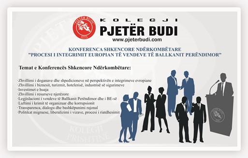 """Kolegji """"Pjetër Budi"""" organizon Konferencën e Tretë Shkencore Ndërkombëtare"""