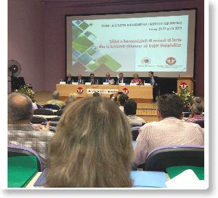 """Stafi i Kolegjit """"Pjetër Budi"""" në konferencë shkencore ndërkombëtare"""