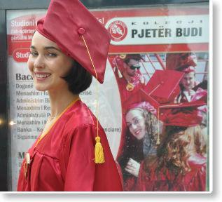 """Kolegji """"Pjetër Budi"""" me ofertë të veçantë për studime"""