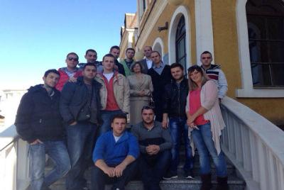 Studentët vizituan Muzeun e Kosovës