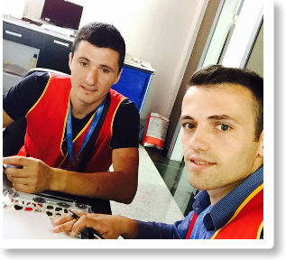 Studentët po mbajnë praktikë në Doganë e Shpedicione