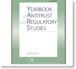 Punimi i Dr. Orhan Çekut në Yearbook of Antitrust and Regulatory Studies