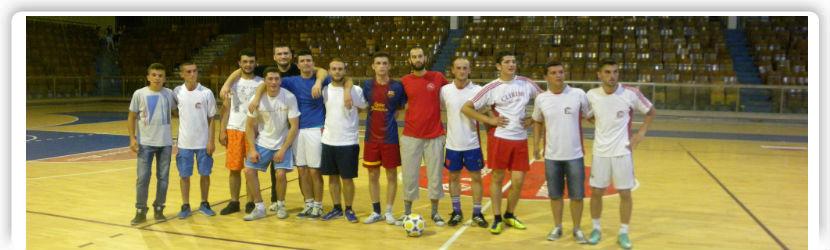 Studentët e vitit të parë të Doganës, fitojnë turnirin në futboll