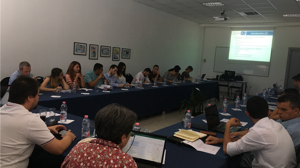 Pjetër Budi College participated in a training organized by the International Quality Assurance Organization based in Albania
