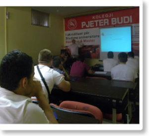 "Sylë Tahirsylaj held a lecture for students of ""Pjetër Budi"""