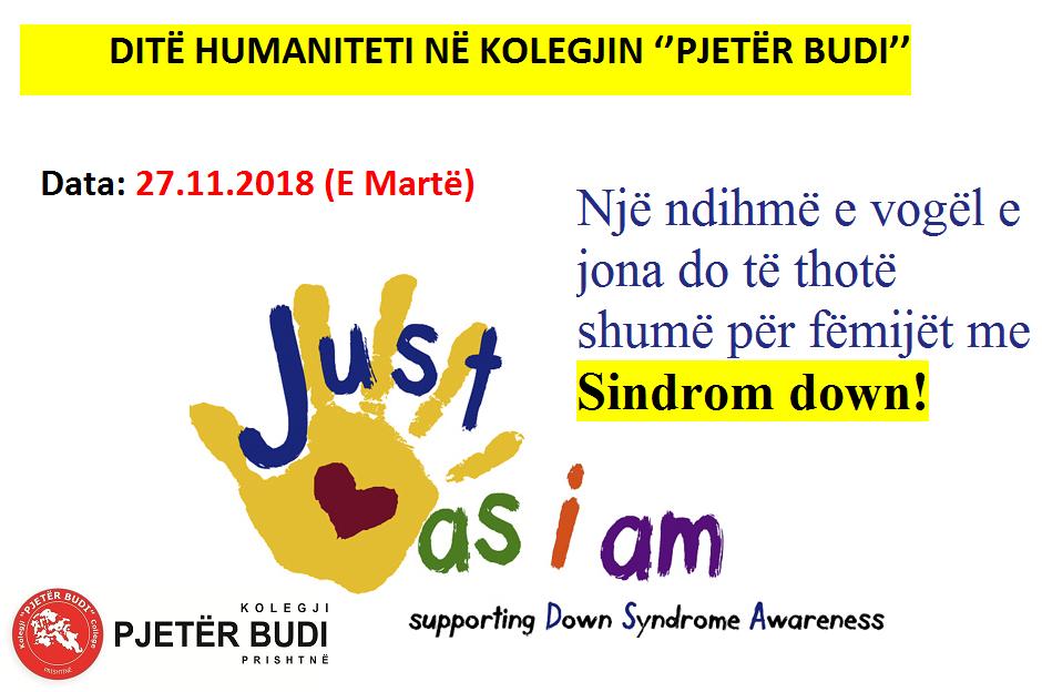 """Ditë humaniteti në Kolegjin """"Pjetër Budi"""""""