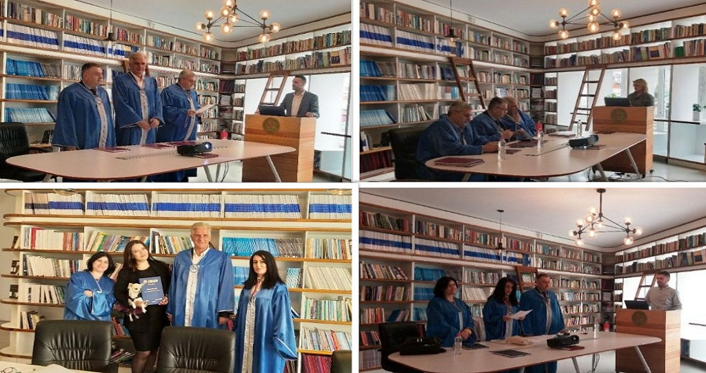 """Graduate on Master's Degree in """"Pjetër Budi"""" College"""