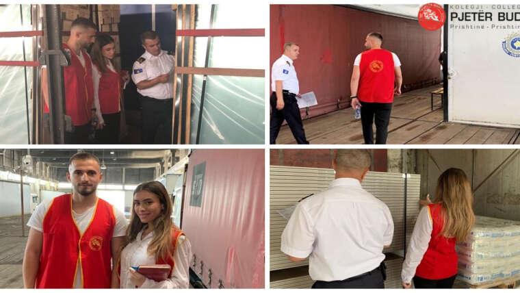 """Studentët e Kolegjit """"Pjetër Budi"""" po vijojnë punën praktike në Doganën e Kosovës"""
