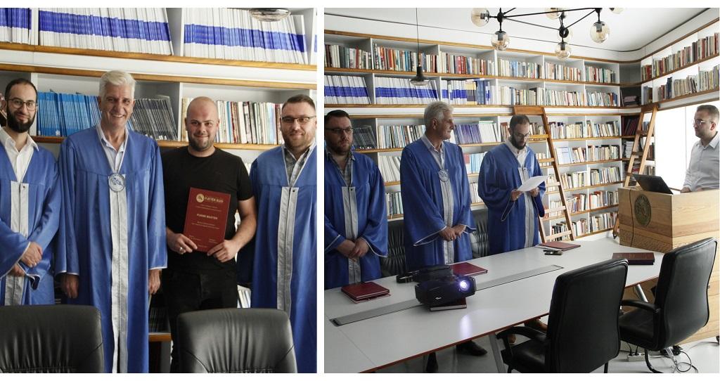 """Me datë 18/06/2019 në Kolegjin """"Pjetër Budi"""" diplomuan studentët:"""