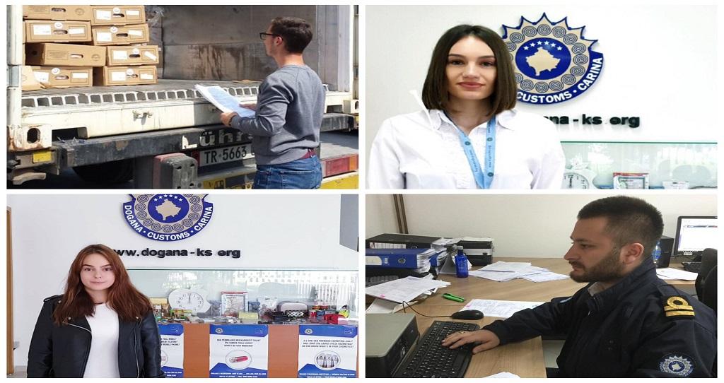 """Studentët e Kolegjit """"Pjetër Budi"""" filluan punën praktike në Doganën e Kosovës"""