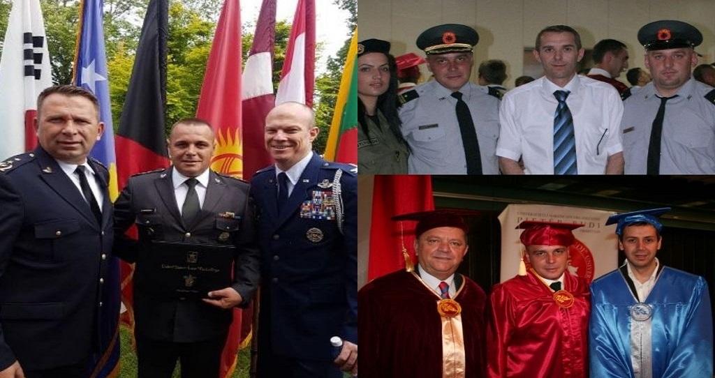 """Ejup Maqedonci-  ish student i Kolegjit """"Pjetër Budi"""",  përfundoi studimet master  në SHBA."""