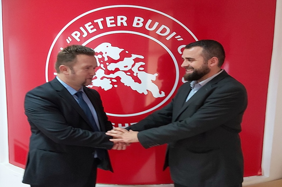 """Marrëveshje bashkëpunimi mes të Kolegjit """"Pjetër Budi"""" dhe Kompanisë AAFIT"""