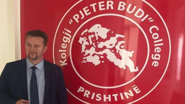 """Rektor i Kolegjit """"Pjeter Budi"""" u emërua Prof.Ass.Dr.Artan HAZIRI"""
