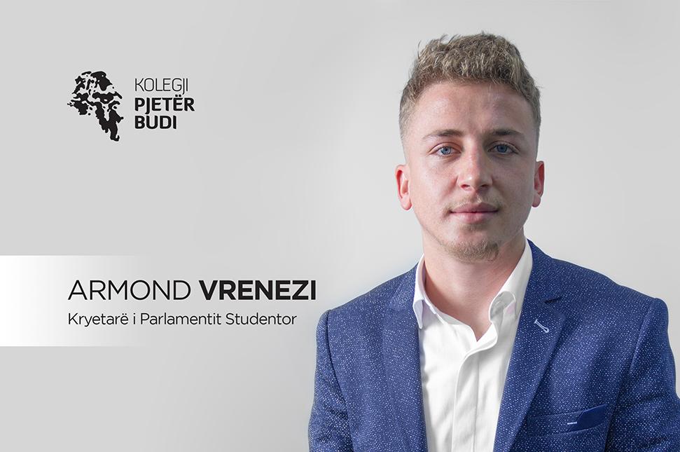 Zgjedhet Kryetari i Parlamentit Studentor